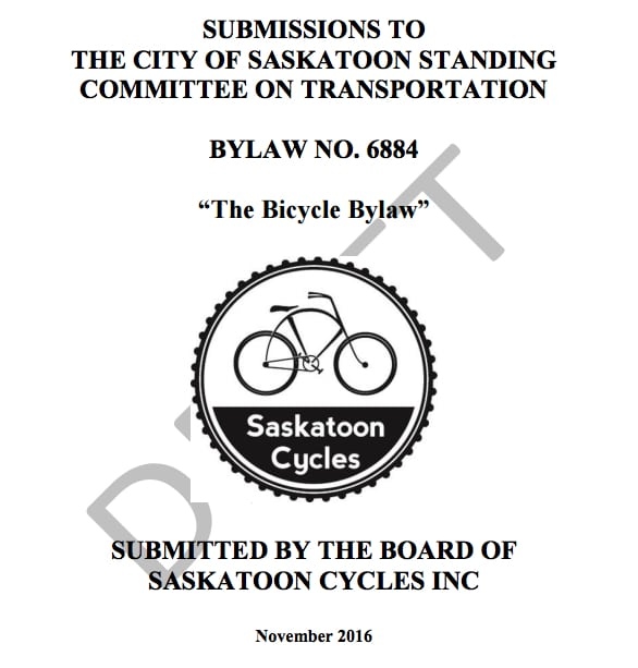 Cycling Bylaw Reform Project