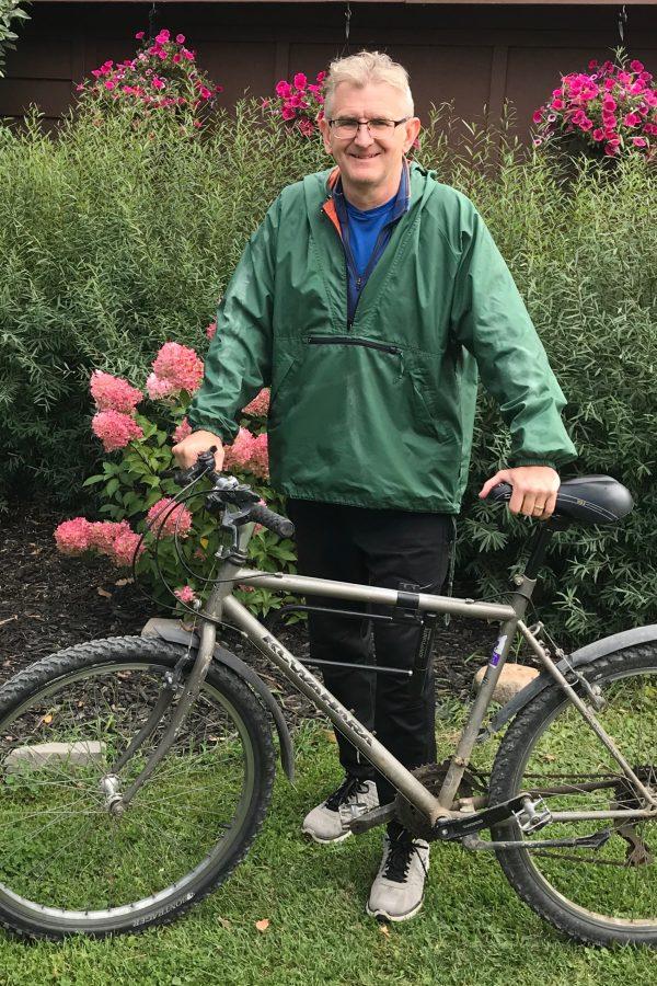 Jerome Nicol is a board member of Saskatoon Cycles